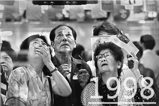 1998东南亚经济危机_1998年:亚洲金融危机之年-羽绒5年定律2018是否魔咒再现